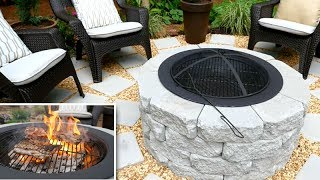 Download DIY | Fire Pit / Grill + Patio Video