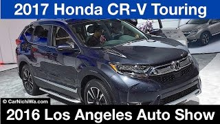 Download 2017 Honda CR-V Touring | 2016 Los Angeles Auto Show | © CarNichiWa Video