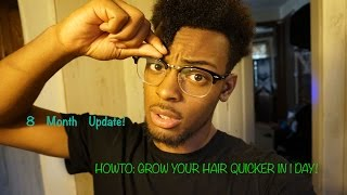 Download HOW TO: GROW YOUR HAIR FASTER FOR MEN & WOMEN OVERNIGHT! (8 MONTH UPDATE) Video