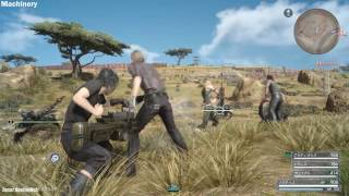 Download FINAL FANTASY XV - All Weapon Types Gameplay l All Weapons & Transformation [Platinum & JD Demo] Video