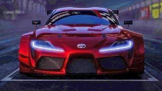 Download Toyota Supra (2018) Racing Concept Video