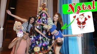 Download ROTINA DE NATAL COM A BABY ALIVE BIA BAGUNÇA, MONTANDO ARVORE DE NATAL com PAPAI NOEL SURPRESA Video