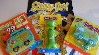 Download Scooby-Doo Magazines with The Mystery Machine Cars & Bone Fan Toys Surprise Video