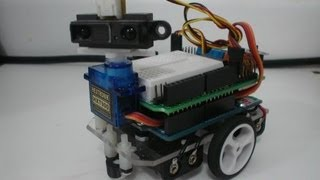 Download Really Fast and Compact Arduino Ultrasonic Robot Video