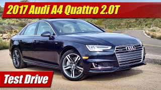 Download 2017 Audi A4 Quattro 2.0T: Test Drive Video