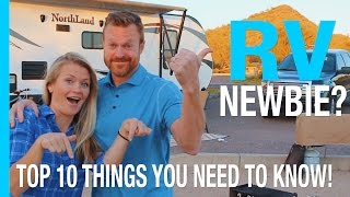 Download RV NEWBIE? TOP 10 THINGS EVERY NEW RV OWNER SHOULD KNOW (RV LIVING HOW TO VIDEO) Video