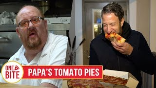 Download Barstool Pizza Review - Papa's Tomato Pies (Robbinsville, NJ) Video