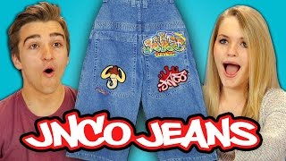 Download TEENS REACT TO 90s FASHION - JNCO JEANS Video