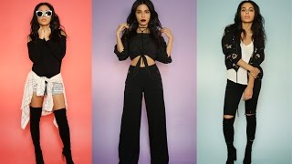Download OUTFIT IDEAS: HOW TO STYLE BASIC BLACK Video