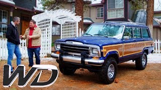 Download Driving The 1988 Jeep Grand Wagonner Around The Californian Mountains | Wheeler Dealers Video