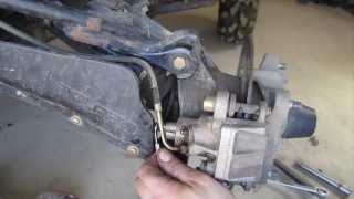 Download How to Bleed ATV Brakes - One Person Technique - Polaris Sportsman and Many Four Wheelers Video