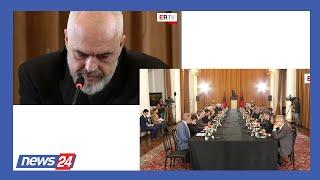Download Rama i shtrin dorën ambasadorëve të huaj: Vëllezër na ndihmoni, po përballemi me problem të mprehtë Video