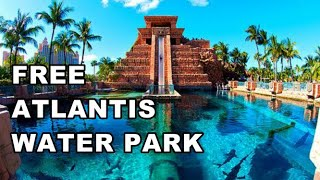 Download Atlantis Water Park, Paradise Island, Bahamas   How To Get In For FREE Video