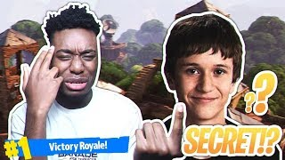 Download MY DUOS PARTNER IS NINJA'S *HIDDEN* SON... MOST RANDOM DUOS VICTORY IN FORTNITE HISTORY! Video