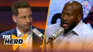 Download James Harrison on what loyalty means in professional sports | NFL | THE HERD Video