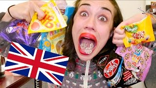 Download AMERICAN EATS BRITISH TREATS AND SWEETS Video