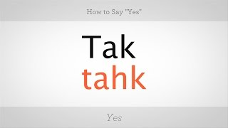 Download How to Say ″Yes″ in Polish | Polish Lessons Video