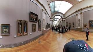 Download Louvre Museum VR 360 View - Denon Wing - Paris, France - LG 360 Camera Video