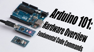 Download Arduino Basics 101: Hardware Overview, Fundamental Code Commands Video
