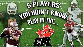 Download 5 College Football Stars You Didn't Know Play In The CFL!!! Video