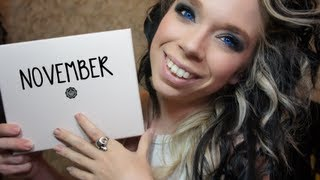Download GLOSSYBOX UNBOXING! NOVEMBER 2012 Video