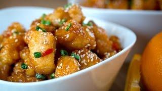 Download Pollo a la Naranja - Orange Chicken Recipe l Kwan Homsai Video
