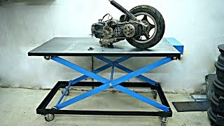 Download Making Mobile Battery Powered Scissor Lift Table (workbench) Video