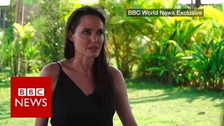 Download Angelina Jolie on divorce, film and Cambodia- BBC News Video