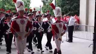 Download OSUMB Unique Inside View Band Marches into Ohio Stadium from Skull Session 9 19 2015 OSU vs NIU Video