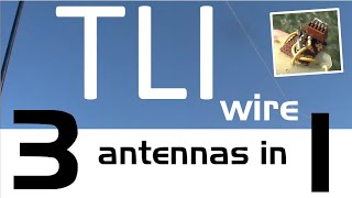 Download Testing a TLI wire: Three antennas in one Video