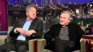Download David Letterman - - Robert Deniro & Dustin Hoffman - Part 1 - 2010.12.17 Video