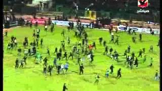 Download الاحداث الوحشية بعد مباراة الاهلي والمصري Video
