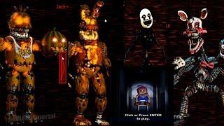 Jumpscare Nightmare Puppet ″Nightmarionne″ - Noche 7 con Trucos ...