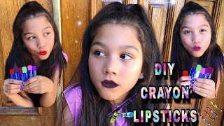 Download DIY: Lipstick Out Of CRAYONS | Txunamy Video