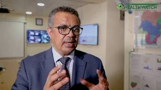 Download EXCLUSIVE INTERVIEW: 3 Questions with Director General, WHO, Dr. Tedros Adhanom Ghebreyesus! Video