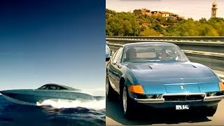 Download Ferrari Daytona vs XRS 48 Boat Part 2 | Top Gear Video