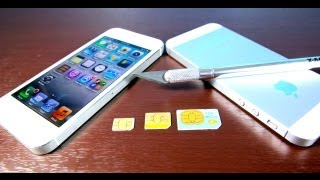 Download How To Cut Micro Sim & Make Nano Sim for iPhone 5 Free & Easy! Mini & MicroSim Convert to NanoSim Video