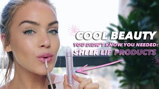 Download 8 'Cool Beauty' SHEER LIP PRODUCTS You Didn't Know You Needed | Mariah Leonard Video