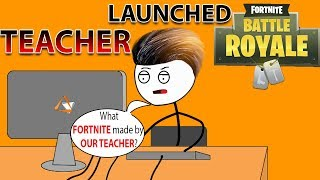 Download What If TEACHER Made FORTNITE Video