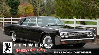 Download 1963 Lincoln Continental - DENWERKS Video