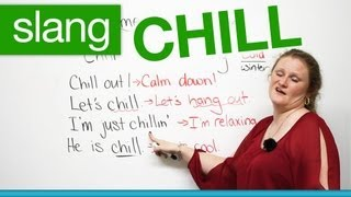 Download Slang in English - CHILL - ″chill out″, ″let's chill″... Video