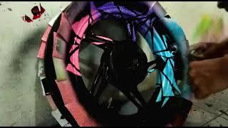 Download Cat Velg Honda Beat Desain Genesiz Sticker Video