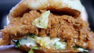 Download KFC Georgia Gold Zinger VS Nashville Hot Zinger Video