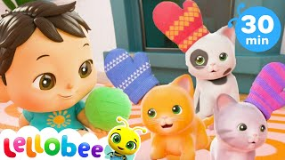 Download Three Little Kittens Song | Nursery Rhymes and Kids Songs | Baby Songs | Little Baby Bum Video