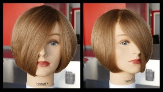 Download How to cut a Layered Bob - Haircut Tutorial Step by Step - TheSalonGuy Video