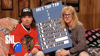 Download Wayne's World - SNL 40th Anniversary Special Video