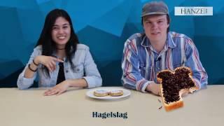 Download International students try weird Dutch food Video
