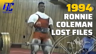 Download Ronnie Coleman's First Power Lifting Competition Video