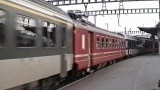 Download Trains CFF - SBB Züge - Gare/Bahnhof Genève/Genf Cornavin - 1992 (2/3) Video