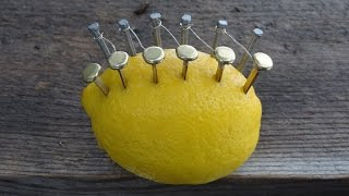 Download How To Make Fire With A LEMON. Video